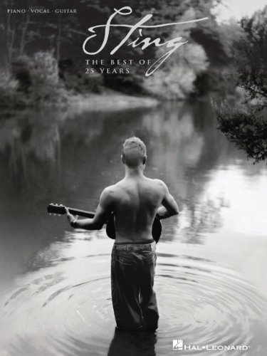 Sting - The Best of 25 Years (Piano/Vocal/Guitar) Sting