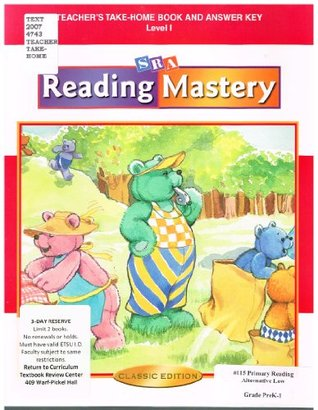 Reading Mastery I 2002 Classic Edition - Teacher Edition Take-home Books WrightGroup/McGraw-Hill
