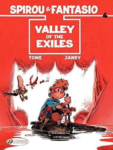 Spirou et Fantasio (english version) - Tome 4 - Valley of the Exiles (CHARACTERS) Tome