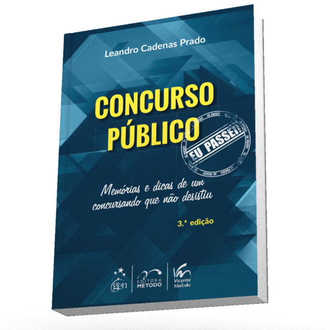 Concurso Público: Eu Passei!  by  Leandro Prado