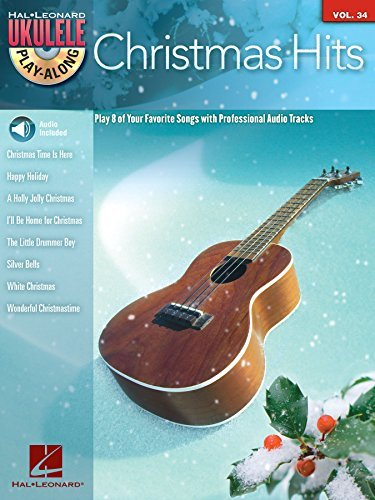 Christmas Hits Ukulele Play-Along Songbook: Volume 34  by  Hal Leonard Publishing Company