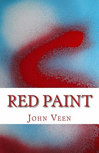 red paint  by  John Veen