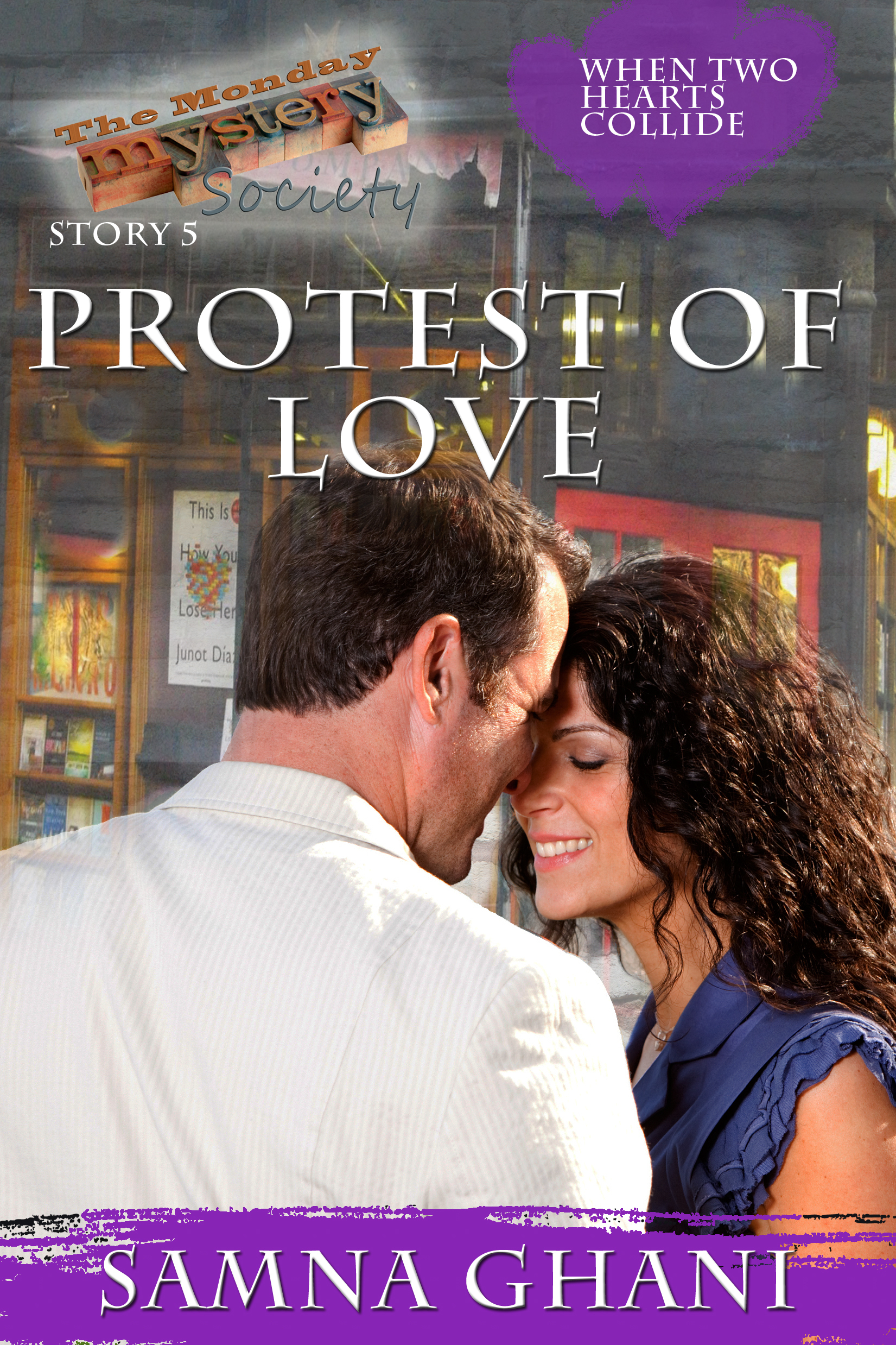 Protest of Love  by  Samna Ghani
