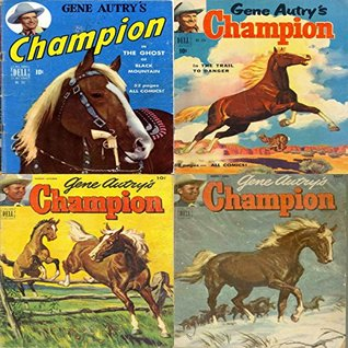 Gene Autrys Champion. Issues 1, 2, 7 and 8. Features the wonder horse, the ghost of black mountain and the trail to danger. Digital Sky Comic Compilations Wild West Western  by  Digital Sky Comic Compilations