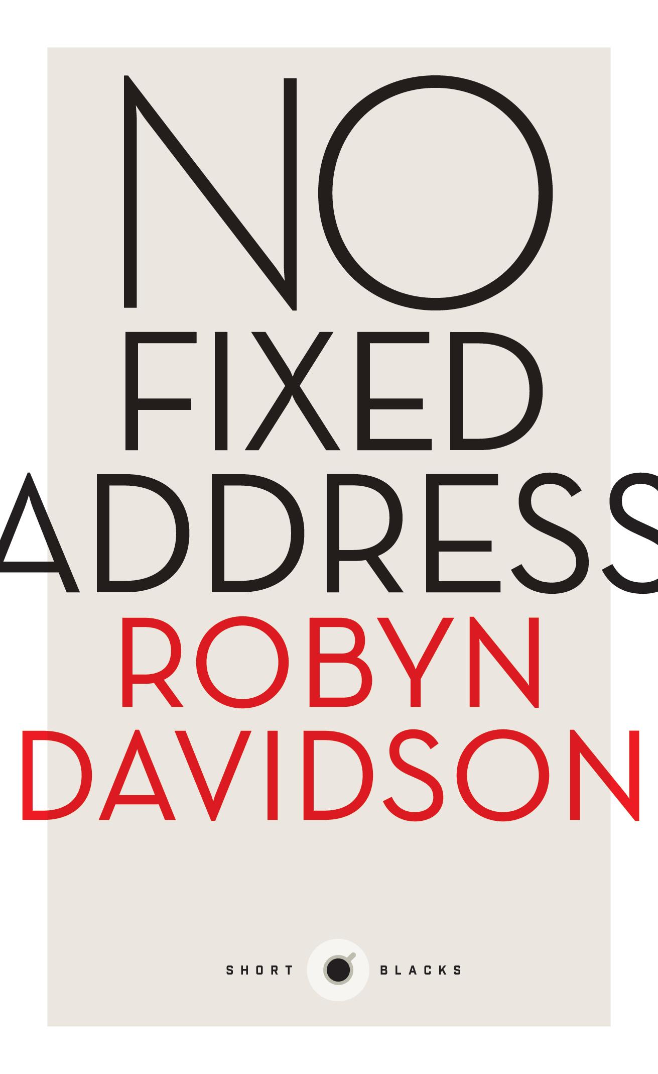No Fixed Address Robyn Davidson