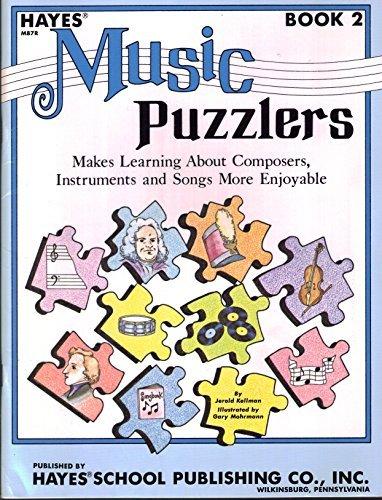 Hayes Music Puzzlers Book 2 Jerold Kellman