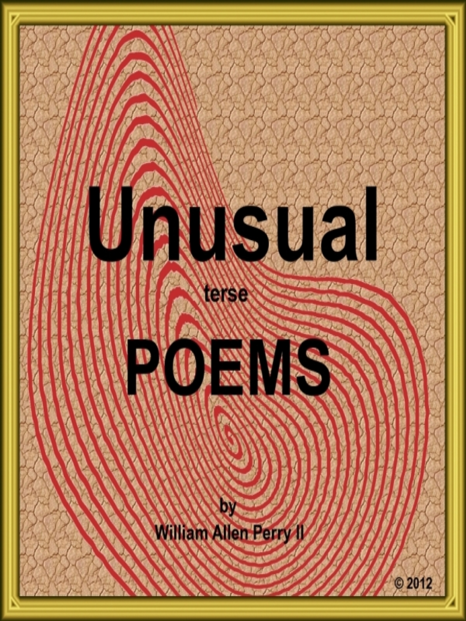 Unusual Terse Poems  by  William Allen Perry 2nd