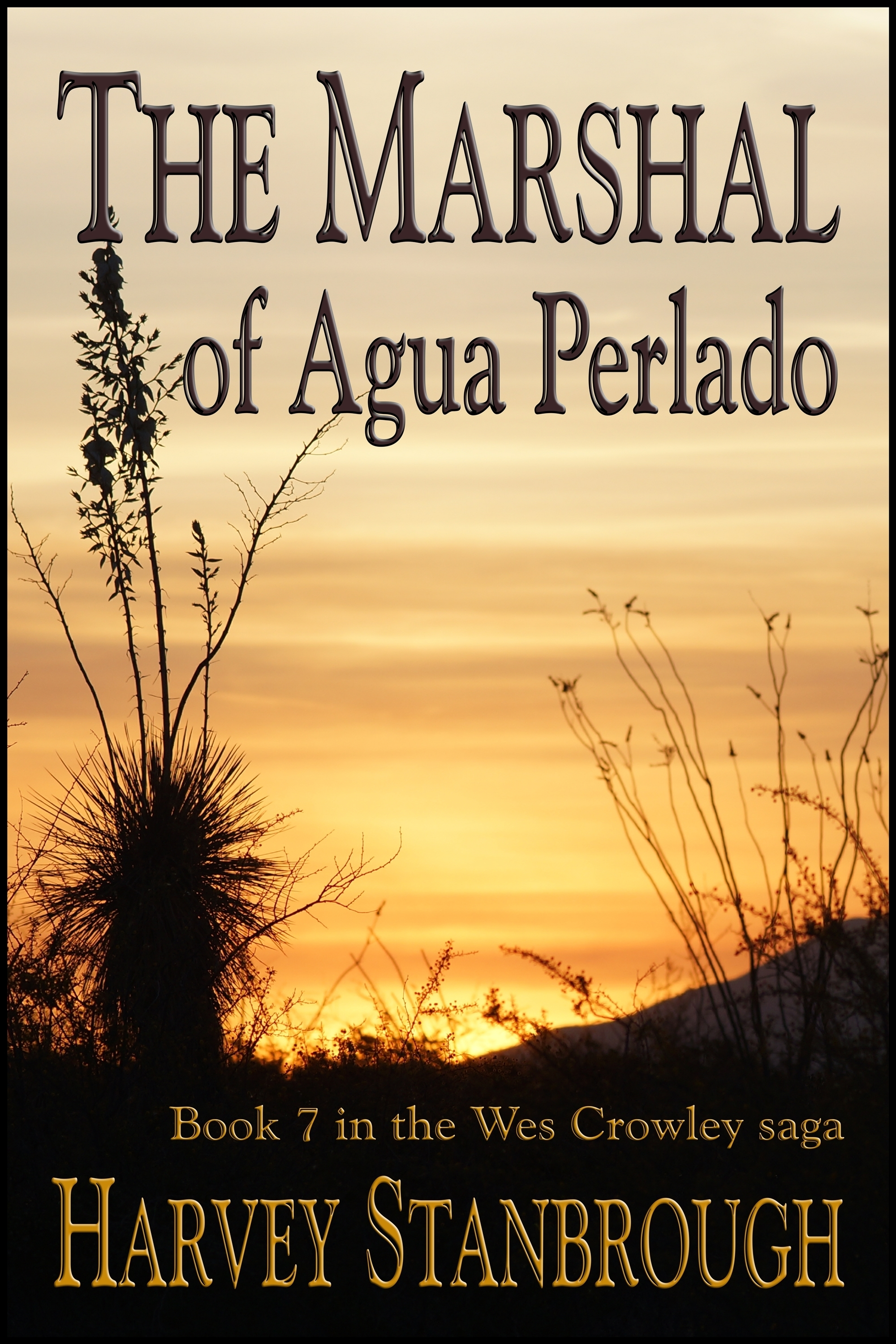 The Marshal of Agua Perlado  by  Harvey Stanbrough