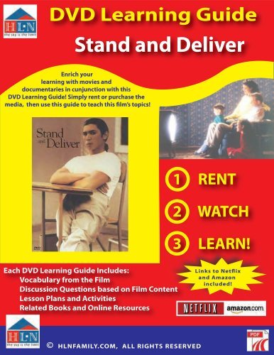 Stand and Deliver DVD Learning Guide  by  Patricia Inman