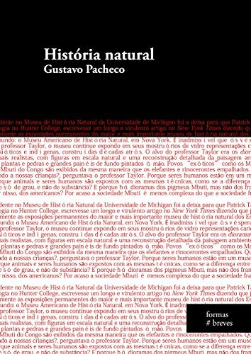História natural  by  Gustavo Pacheco