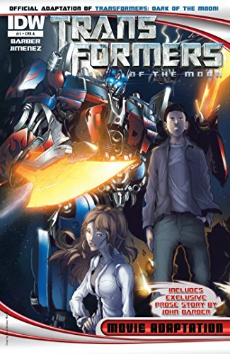 Transformers 3 Movie Adaptation - Dark of the Moon #1  by  John Barber