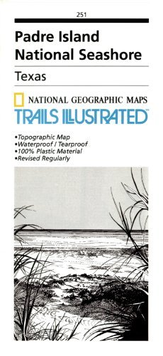 Padre Island National Seashore  by  National Geographic Maps