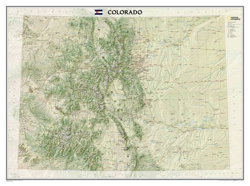 Colorado [Laminated] (National Geographic: Reference Map) National Geographic Society