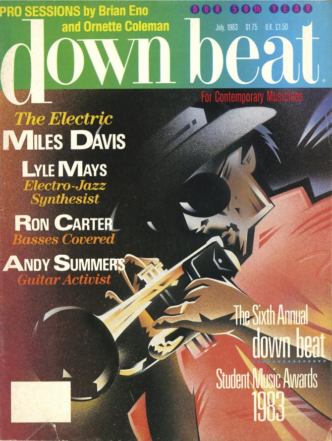 1983 Downbeat Magazine -  Miles Davis Cover  by  Various