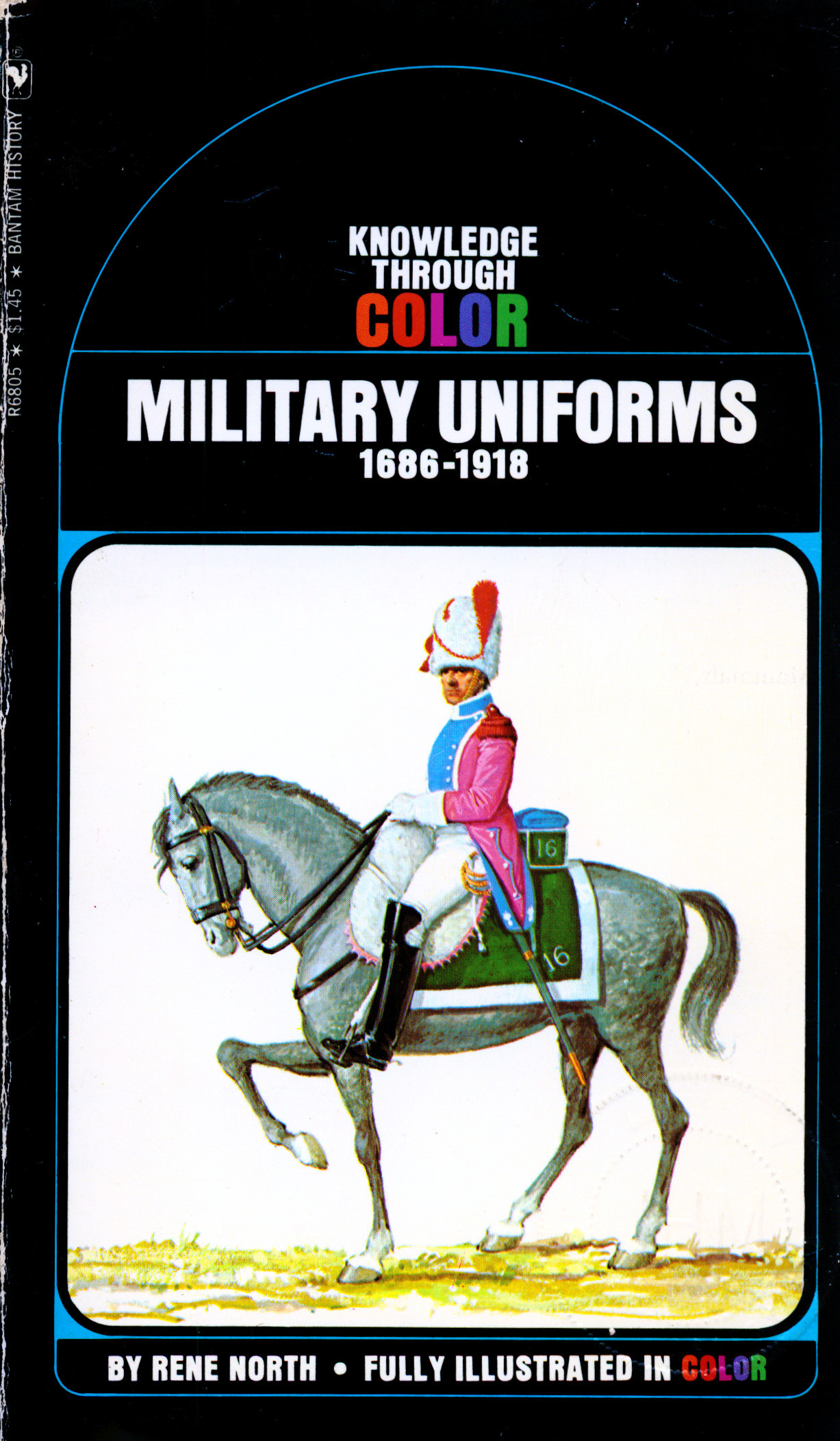 Military uniforms, 1686-1918 Rene North