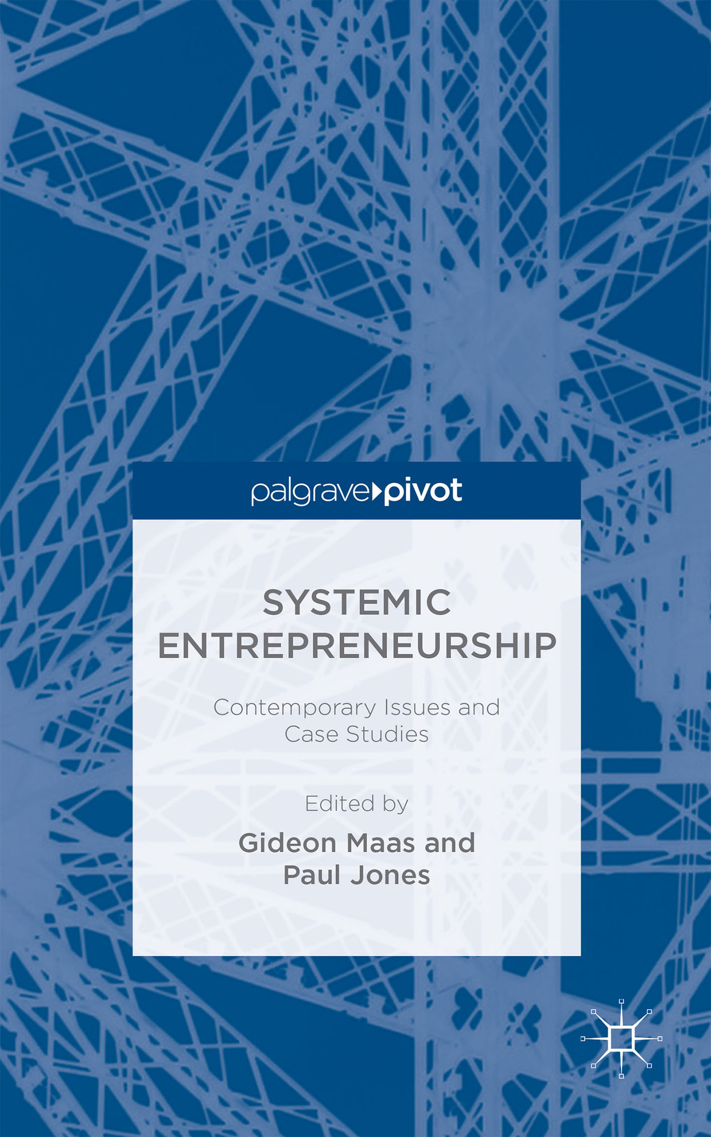 Systemic Entrepreneurship: Contemporary Issues and Case Studies Gideon Maas