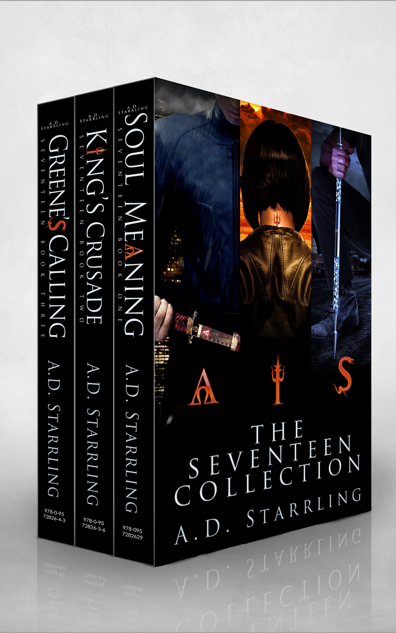 The Seventeen Collection (Seventeen #1-3) A.D. Starrling