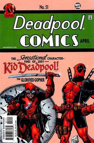 Deadpool Vol. I #51 Jimmy Palmiotti