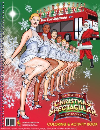 Radio City Christmas Spectacular starring The Rockettes 2012 (8.5 x 11) ColoringBook.com