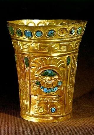 Por beber una copa de oro Ricardo Palma