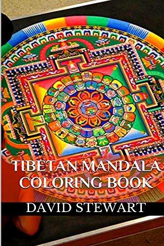 Tibetan Mandala Coloring (Mandala Coloring Books for Adults Book 2)  by  David Stewart