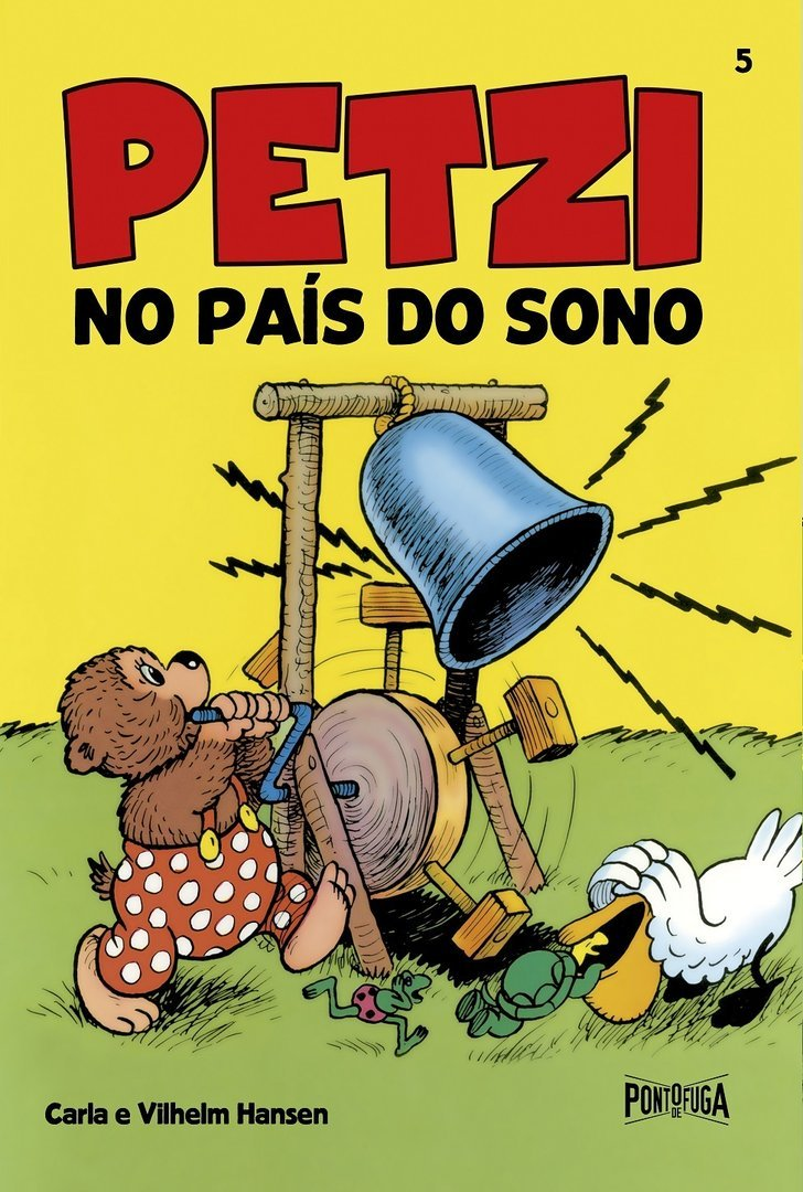 Petzi no País do Sono (Petzi, #5)  by  Carla Hansen