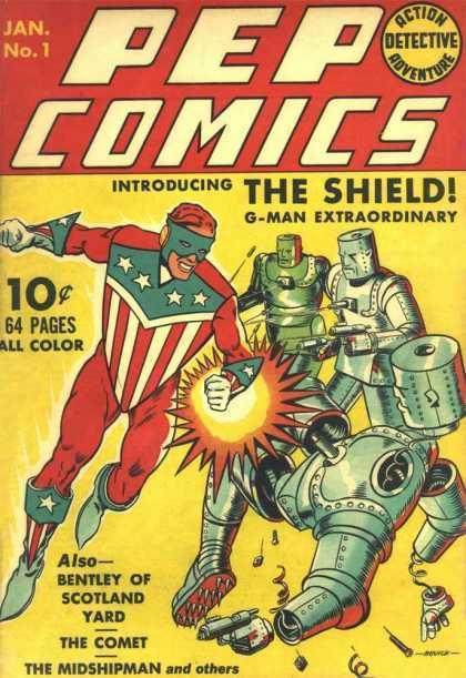 Pep Comics #1  by  Various