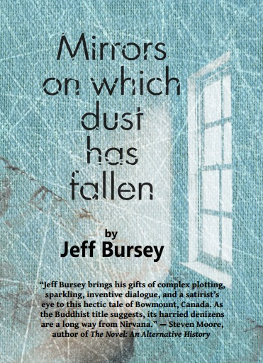 Mirrors on which dust has fallen  by  Jeff Bursey