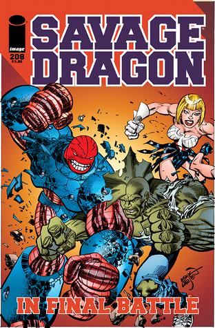 Savage Dragon #208  by  Erik Larsen
