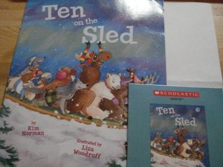 Ten on the Sled Book & Audio CD Kim Norman