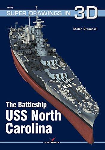 The Battleship USS North Carolina  by  Stefan Draminski