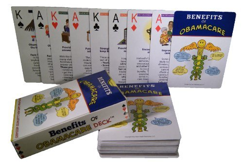 Benefits of Obamacare Playing Cards Claro Health Resources