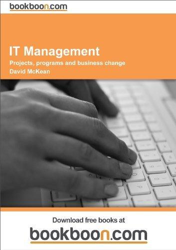 IT Management David E. McKean