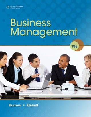 Student Activity Guide for Burrow/Kleindls Business Management, 13th James L. Burrow
