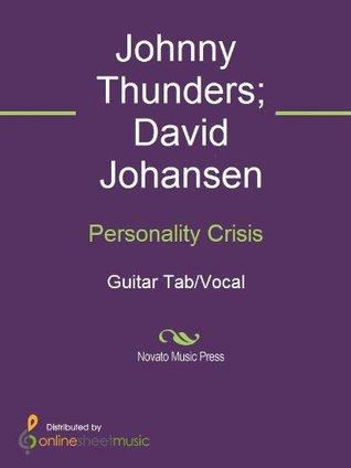 Personality Crisis David Johansen