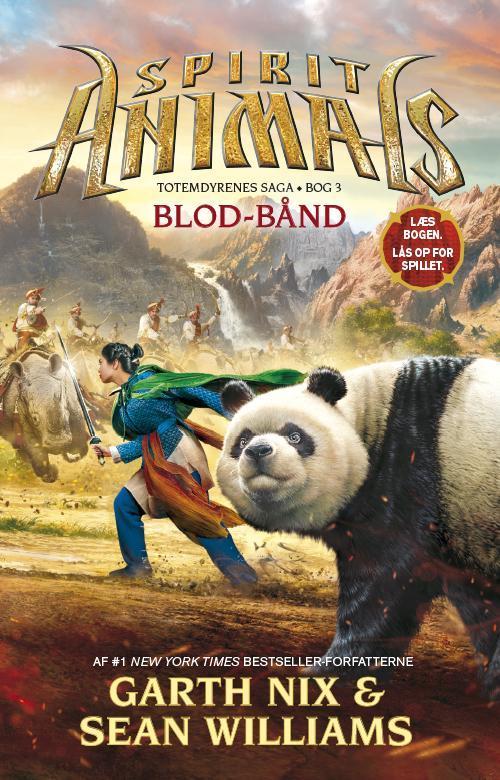 Blod-bånd (Spirit Animals, #3) Garth Nix