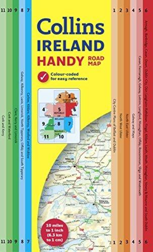Handy Map of Ireland Collins Maps