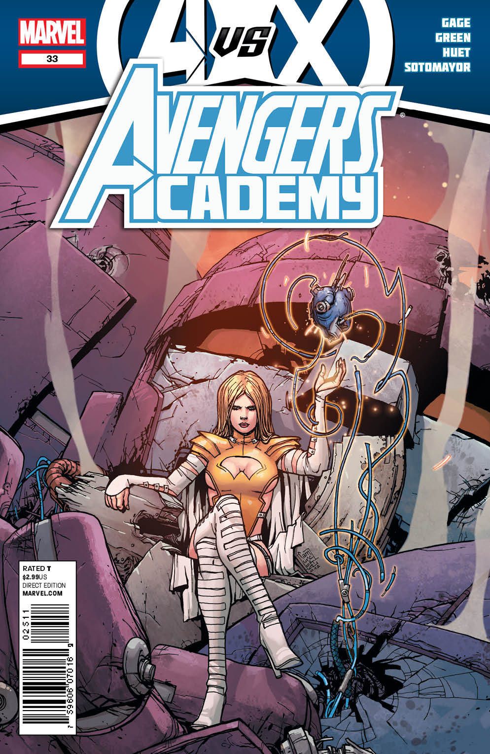 Avengers Academy Vo.l 1 #33  by  Christos Gage
