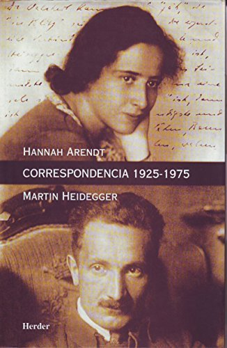 Correspondencia 1925-1975  by  Hannah Arendt