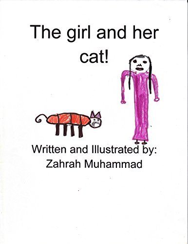 The girl and her cat Zahrah Muhammad