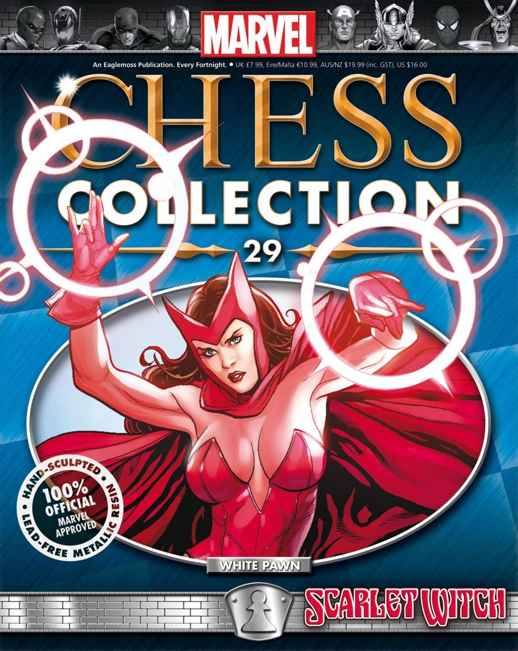 Scarlet Witch - White Pawn (Marvel Chess Collection, #29) Nick Abadzis