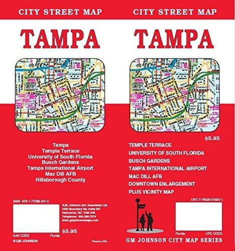 Tampa, FL Street Map GM Johnson