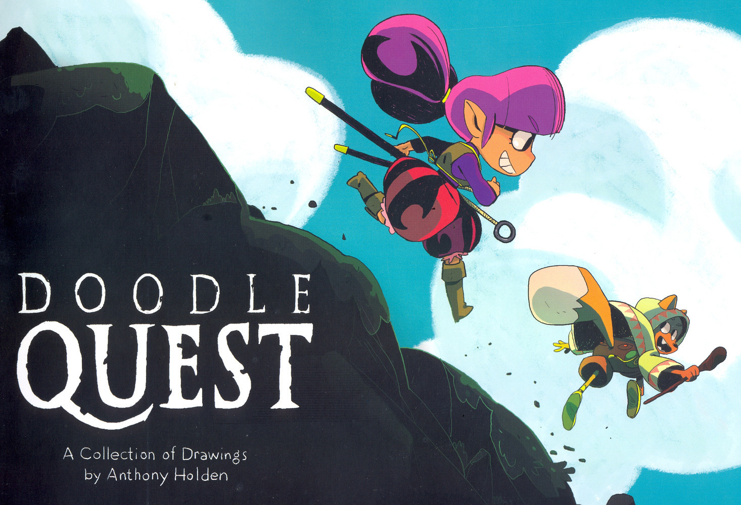 Doodle Quest  by  Anthony Holden