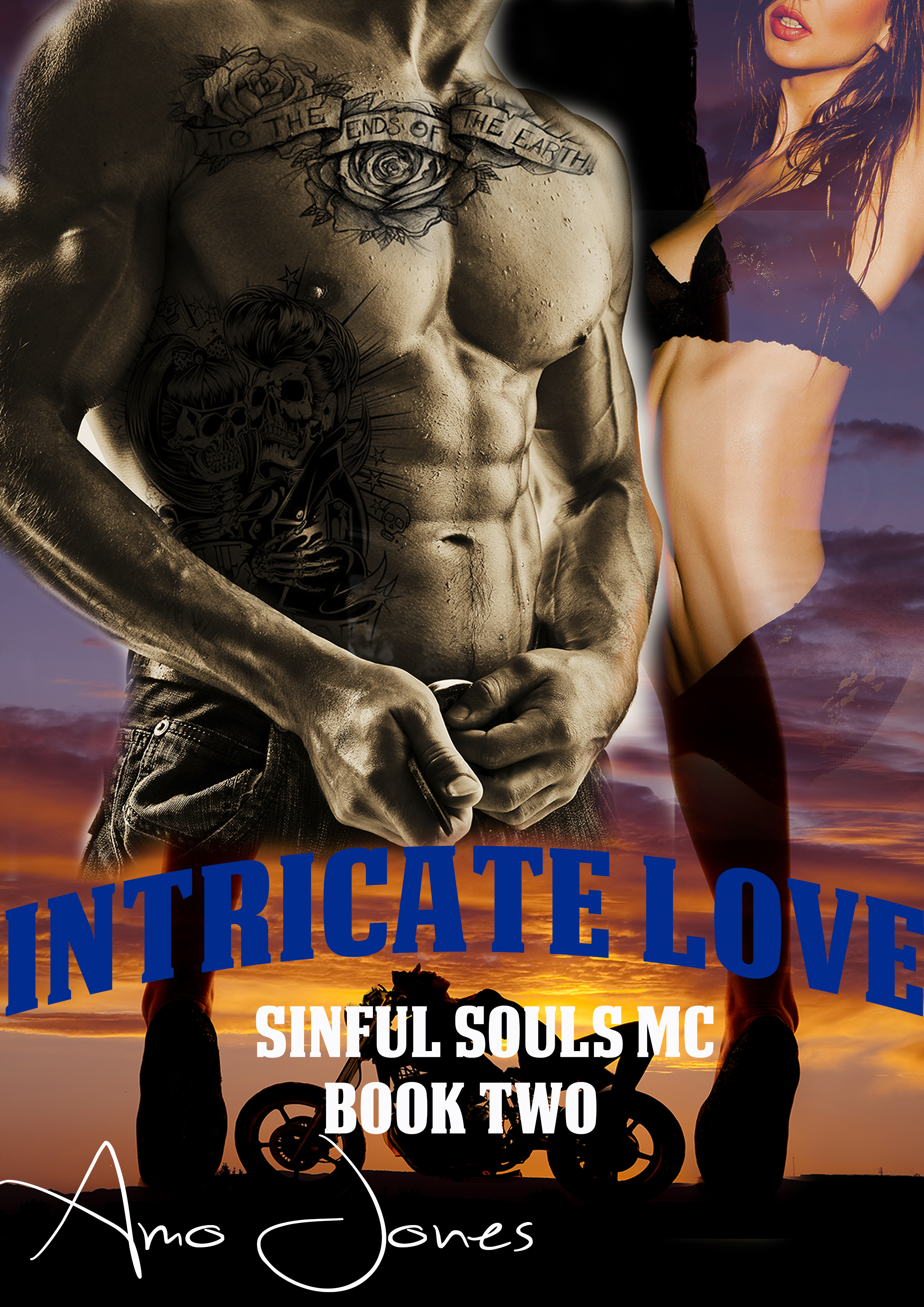 Intricate Love (Sinful Souls MC #2)  by  Amo Jones