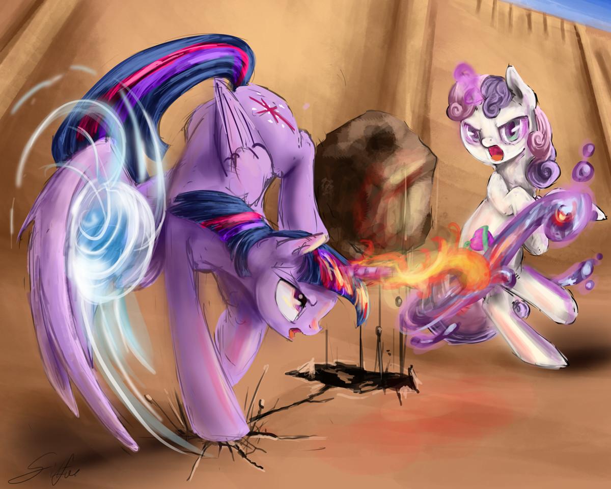 Avatar: The Last Alicorn. Book 2: Earth Pony  by  Maskinos