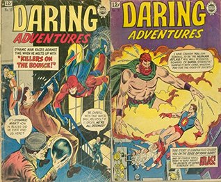 Daring Adventures. Issues 10 and 18. Killers on the bounce, super strength atlas and more. Golden Age Digital Comics Action and Adventure.  by  Golden Age Adventure Comics
