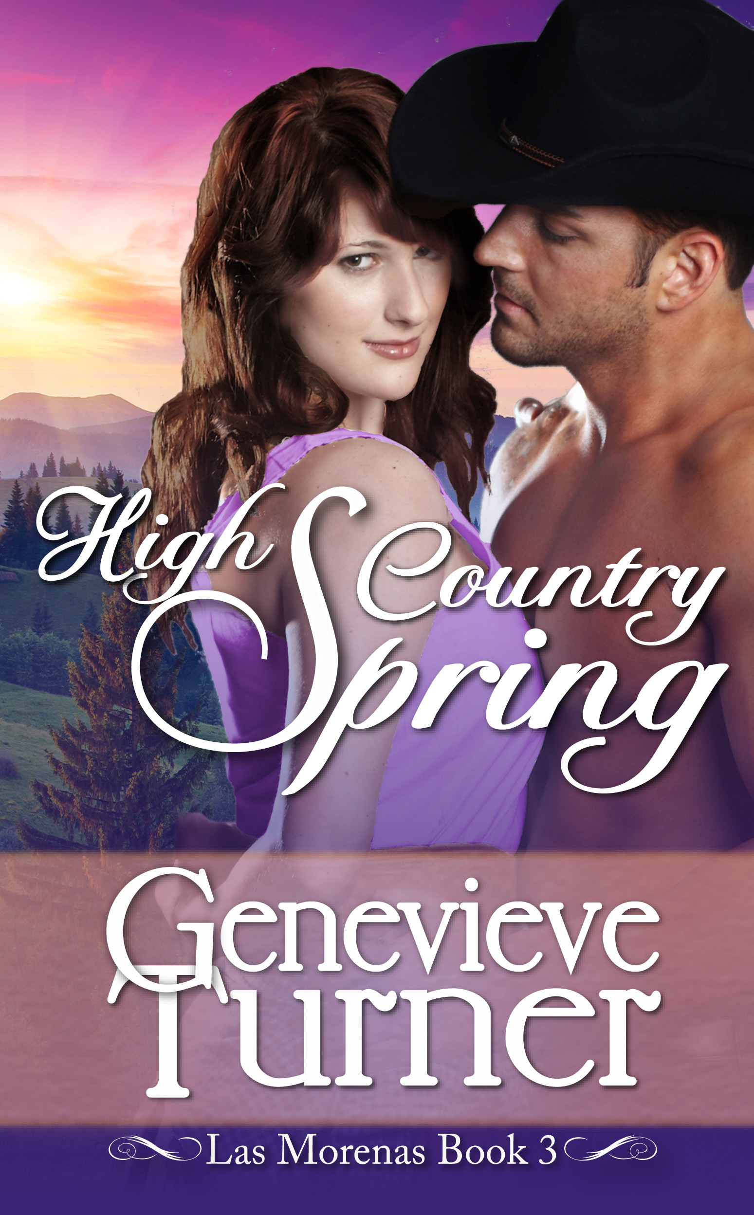 High Country Spring (Las Morenas, #3)  by  Genevieve Turner