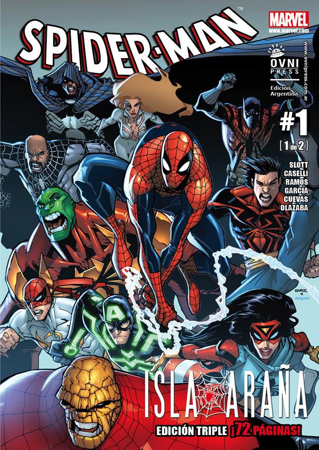 Spider-Man #09: Isla Araña, #1 de 3 (Spiderman de Ovni Press, #9) Dan Slott