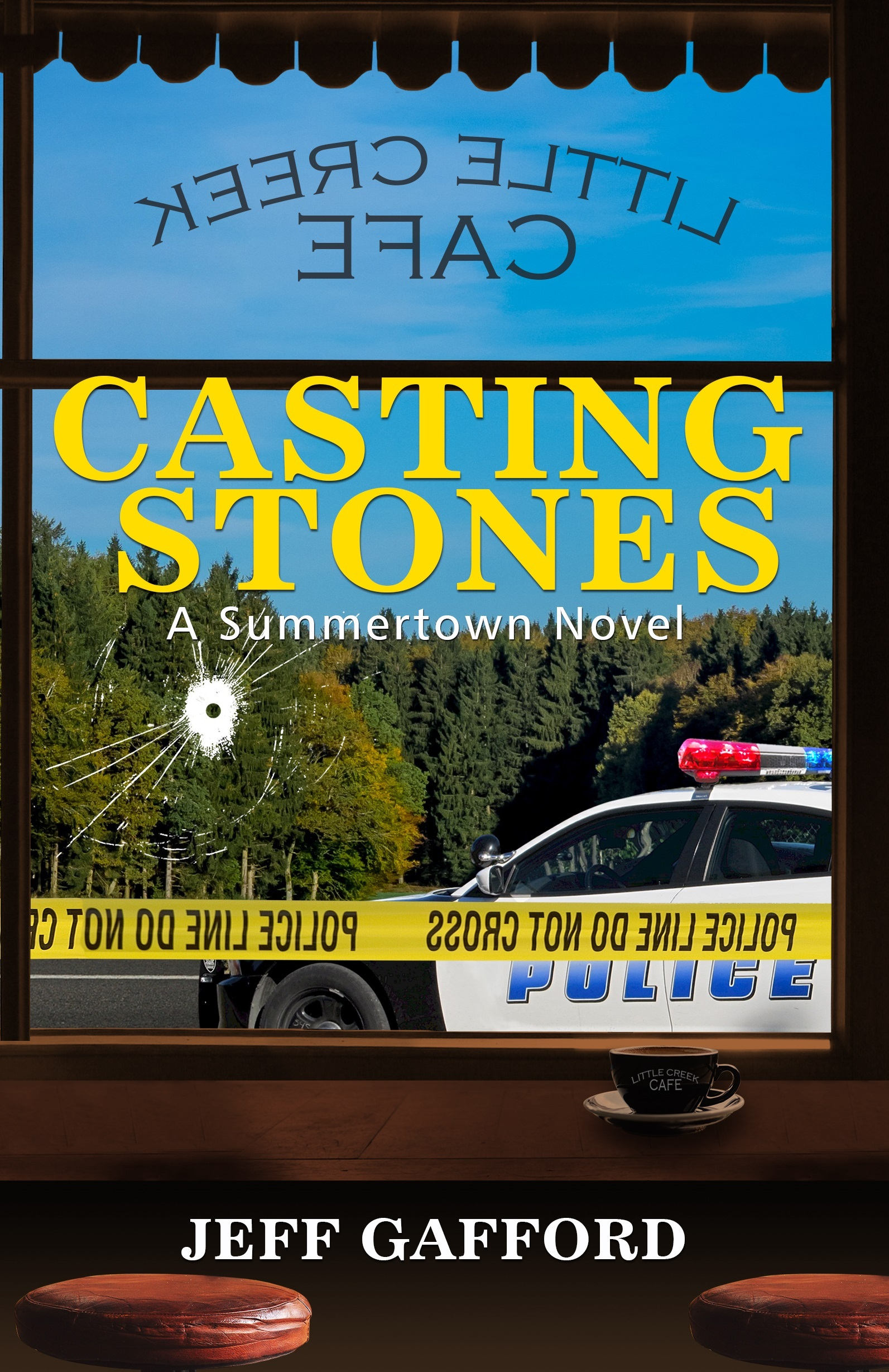 Casting Stones  by  Jeff Gafford