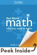 Real Estate Math: What You Need to Know 7th Edition  by  Linda L. Crawford